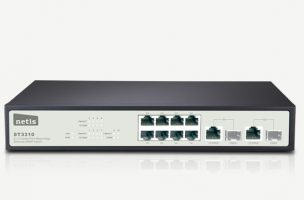 ST3310 – ۸FE+2 Combo-Port Gigabit Ethernet SNMP Switch -ST3301
