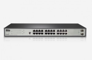 ۲۴GE+2 SFP-Port Gigabit Ethernet SNMP Switch ST3326GF