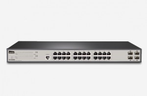 ۲۴GE+4 SFP-Port Gigabit Ethernet SNMP Switch ST3328GF