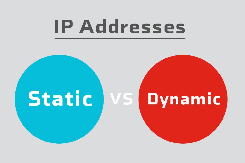 IP پویا و ایستا STATIC VS DYNAMIC