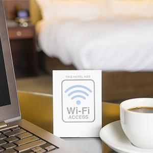 وایرلس عمومی در هتل ها اینترنت بی سیم Public wifi