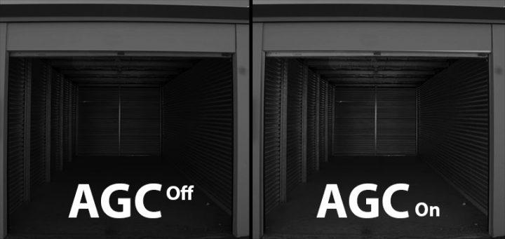 قابلیت AGC در دوربین های مداربسته